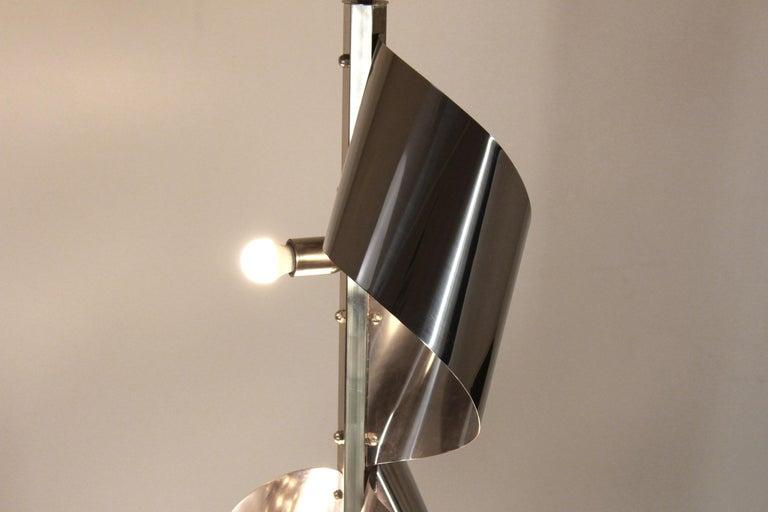 1960s Vintage Floor Lamp by Reggiani For Sale 1