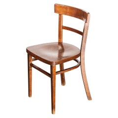 1960s Classic Elegant Bentwood Dining Chair by Thon, Set of Fifteen