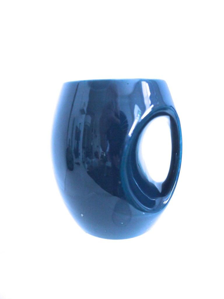 Ceramic 1960s Coffee Set Made in Norfolk - Holkham Owl Design Scandinavian Aesthetic  For Sale