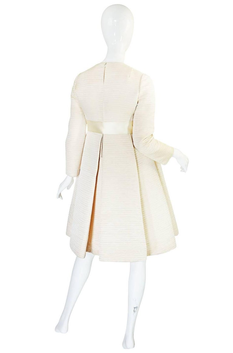 This is a very rare, museum quality example of Gustave Tassell, who was one of the great American Couturiers. Example of his work are extremely hard to come by and most are only found in museum collections! For those not familiar with his work,