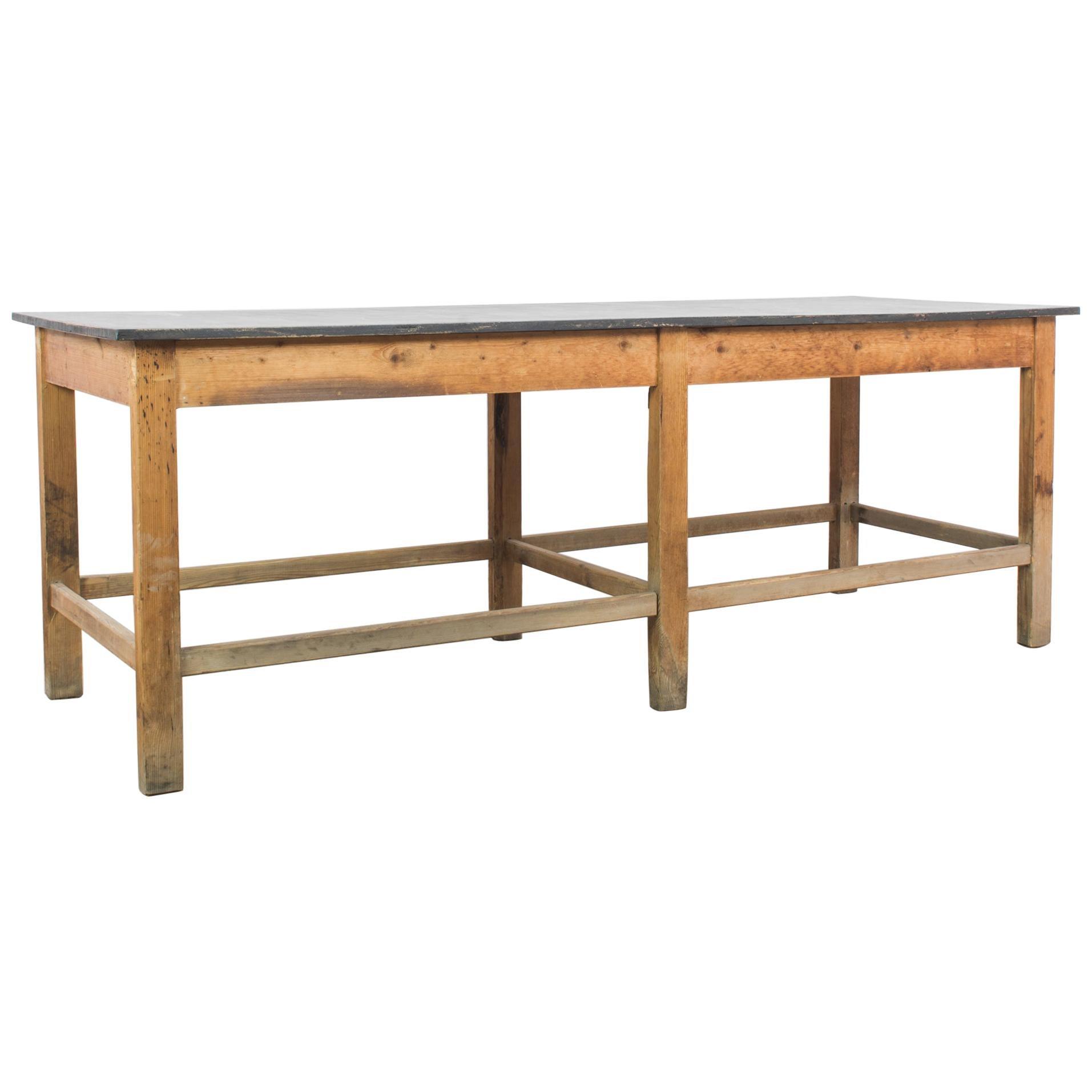 1960s Czech Wooden Table