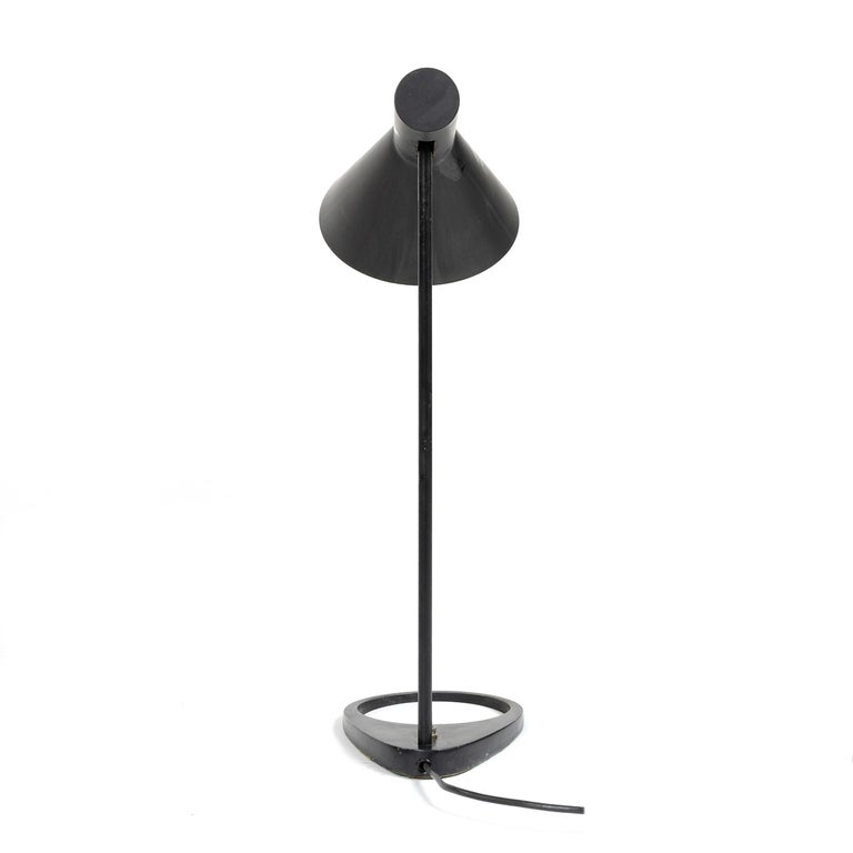 Mid-20th Century 1960s Danish AJ Extra Large Desk Lamp by Arne Jacobsen for Louis Poulsen For Sale