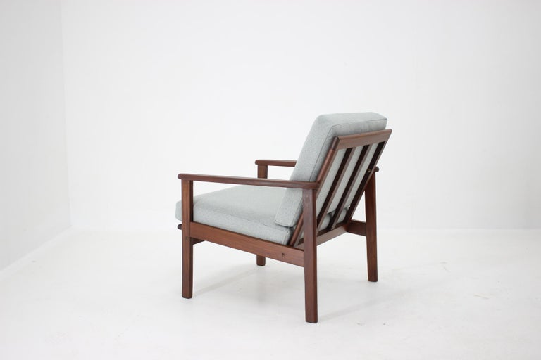 1960s Danish Beech Armchair For Sale 1