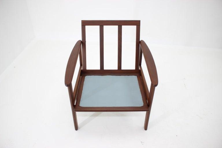 1960s Danish Beech Armchair For Sale 2