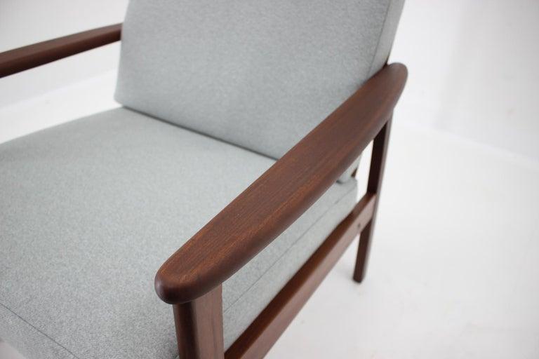 1960s Danish Beech Armchair For Sale 3