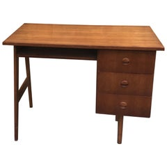1960's Danish Desk/Vintage Typist Writing Desk