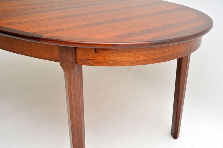 1960s Danish Extending Dining Table For Sale 5