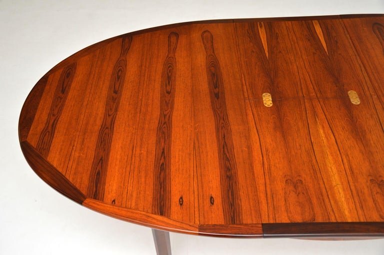 1960's Danish Extending Dining Table For Sale 1