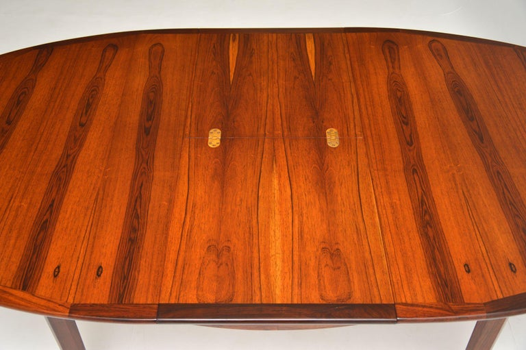 1960's Danish Extending Dining Table For Sale 2