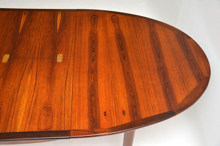 1960s Danish Extending Dining Table For Sale 3