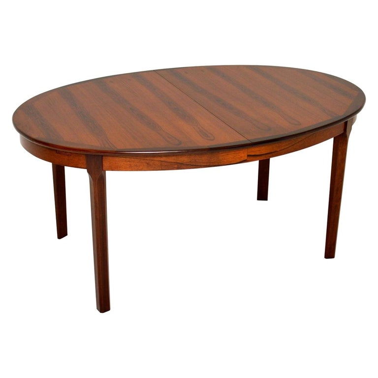 1960's Danish Extending Dining Table For Sale