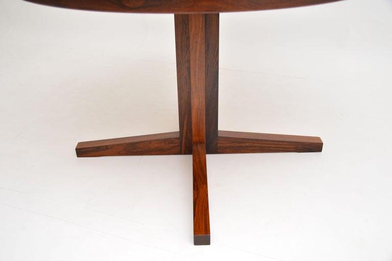 1960s Danish Flip Flap Lotus Dining Table by Dyrlund 3