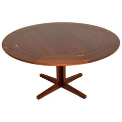 1960s Danish Flip Flap Lotus Dining Table by Dyrlund
