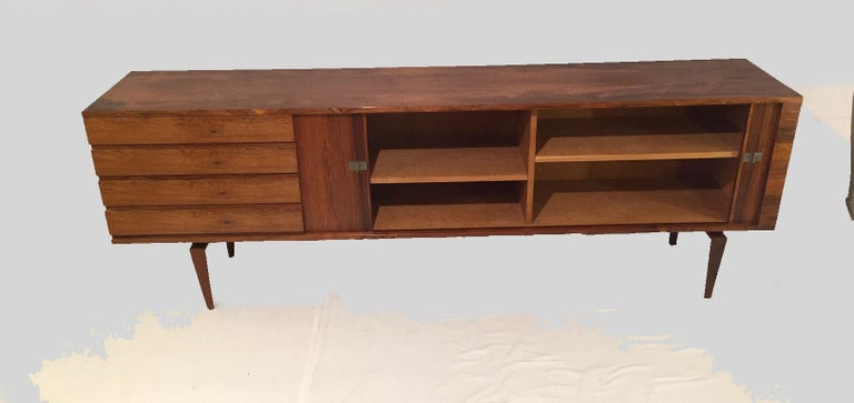 1960s Danish H.W. Klein Sideboard in Rosewood In Good Condition For Sale In Knebel, DK
