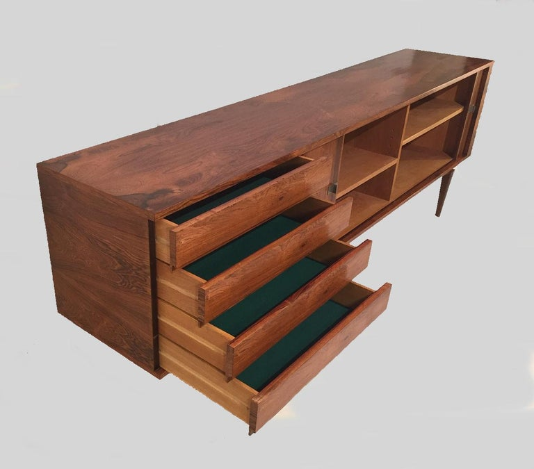 Mid-20th Century 1960s Danish H.W. Klein Sideboard in Rosewood For Sale