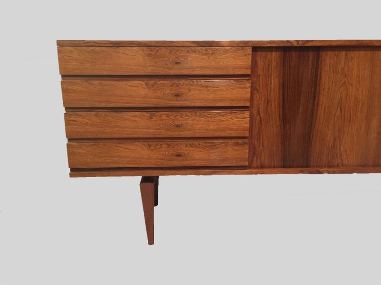 1960s Danish H.W. Klein Sideboard in Rosewood For Sale 1