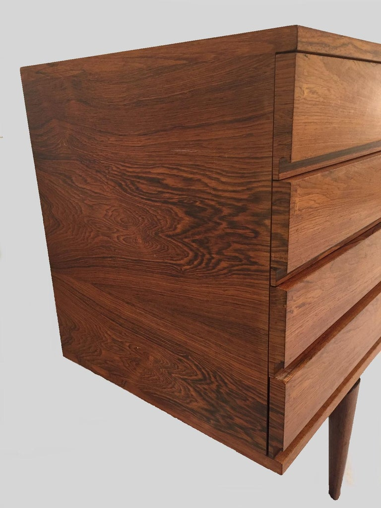 1960s Danish H.W. Klein Sideboard in Rosewood For Sale 3