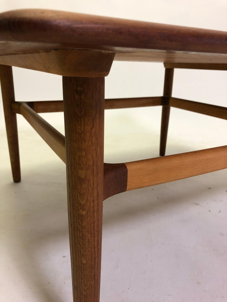 Oak 1960s Danish Kurt Ostervig Coffee Table by Jason Mobler For Sale