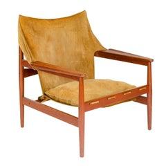 1960s Danish Lounge Chair by Ole Gjerlov Knudsen