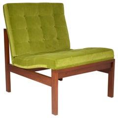 1960's Danish Lounge Chair by Ole Gjerlov Knudssen for France & Søn