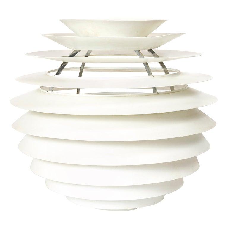 1960s Danish Louvre Pendant Lamp by Poul Henningsen for Louis Poulsen For Sale