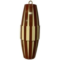 1960s Danish Lyfa Style Pendant Light