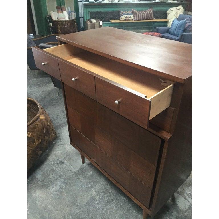 20th Century 1960s Danish Mid-Century Modern 5-Drawer Dresser For Sale