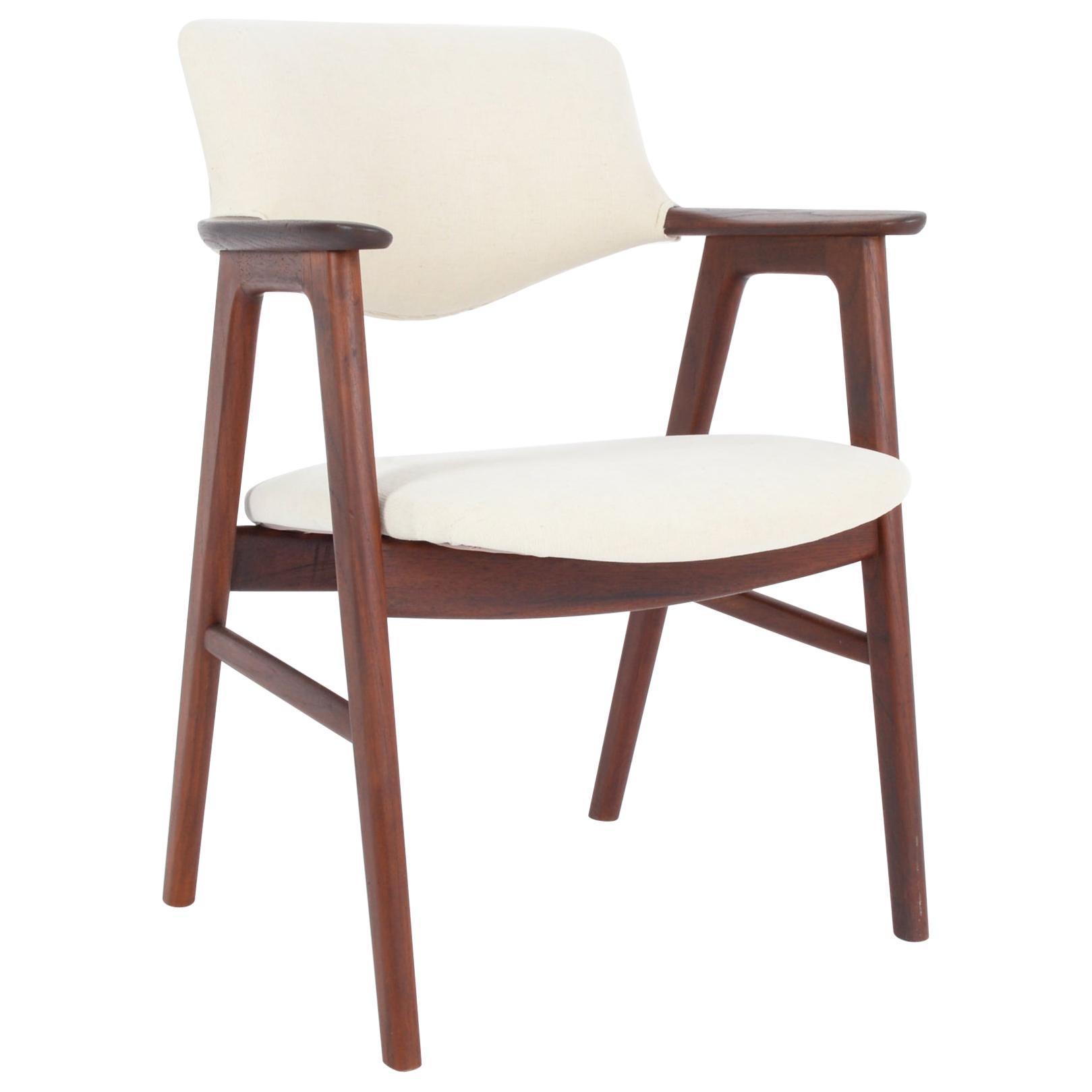 1960s Danish Modern Teak Accent Chair