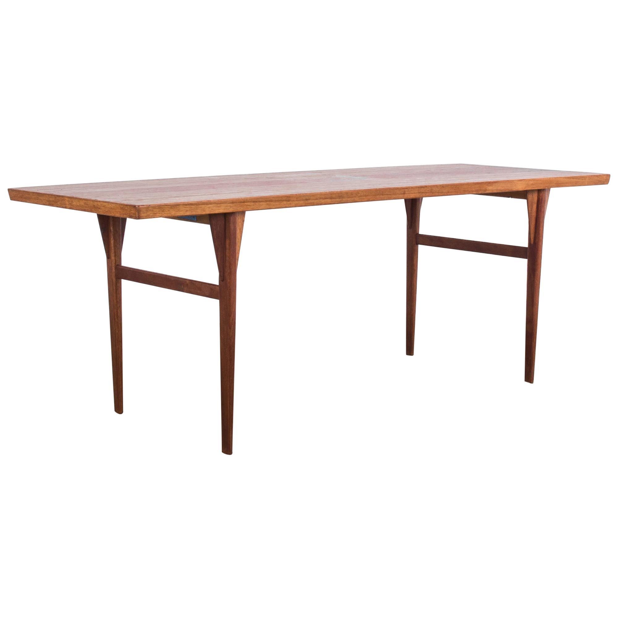 1960s Danish Modern Teak Coffee Table