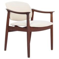 1960s Danish Modern Upholstered Armchair