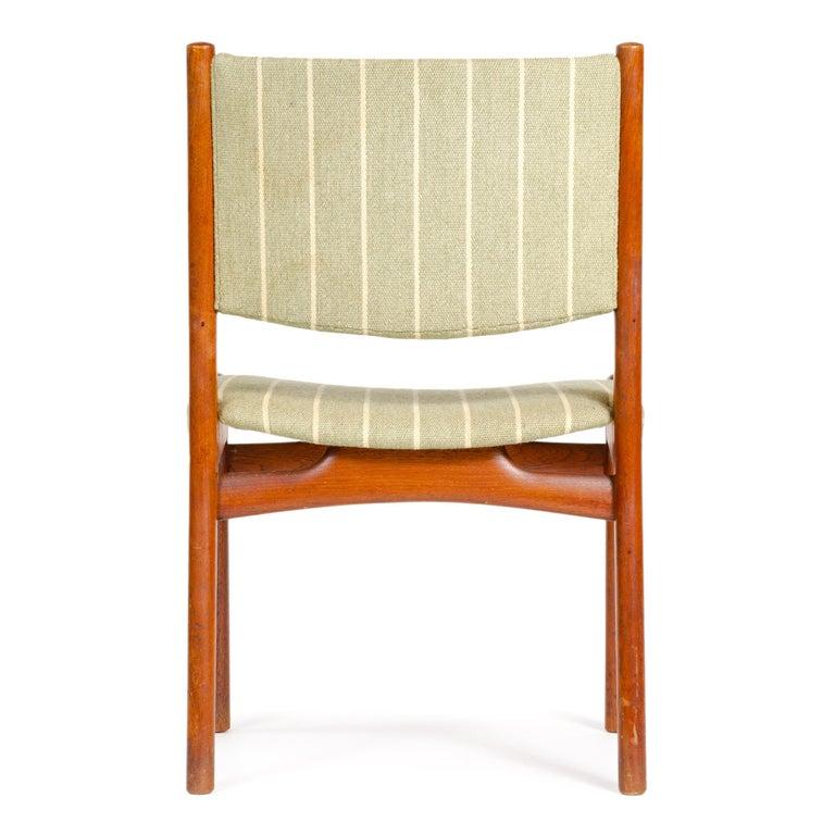 Upholstery 1960s Danish Oak Dining Chairs by Hans J. Wegner for Johannes Hansen For Sale