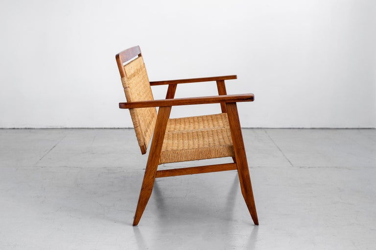 20th Century 1960s Danish Rope Bench For Sale