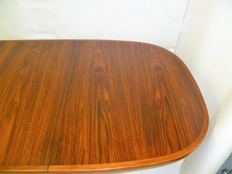 1960s Danish Rosewood Dining Table by Gudme Møbelfabrik For Sale 5