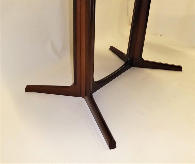 1960s Danish Rosewood Dining Table by Gudme Møbelfabrik For Sale 6