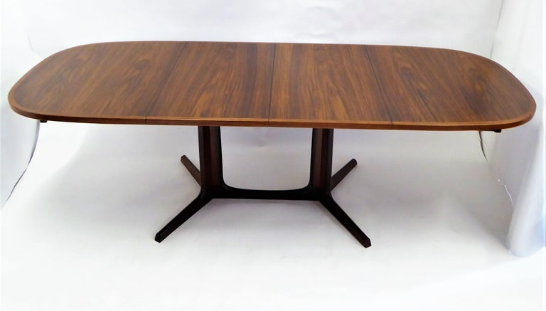 1960s Danish Rosewood Dining Table by Gudme Møbelfabrik For Sale 7