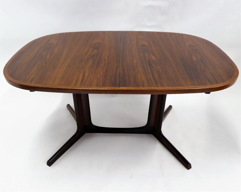 Mid-20th Century 1960s Danish Rosewood Dining Table by Gudme Møbelfabrik For Sale