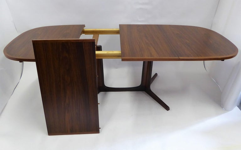 1960s Danish Rosewood Dining Table by Gudme Møbelfabrik For Sale 2