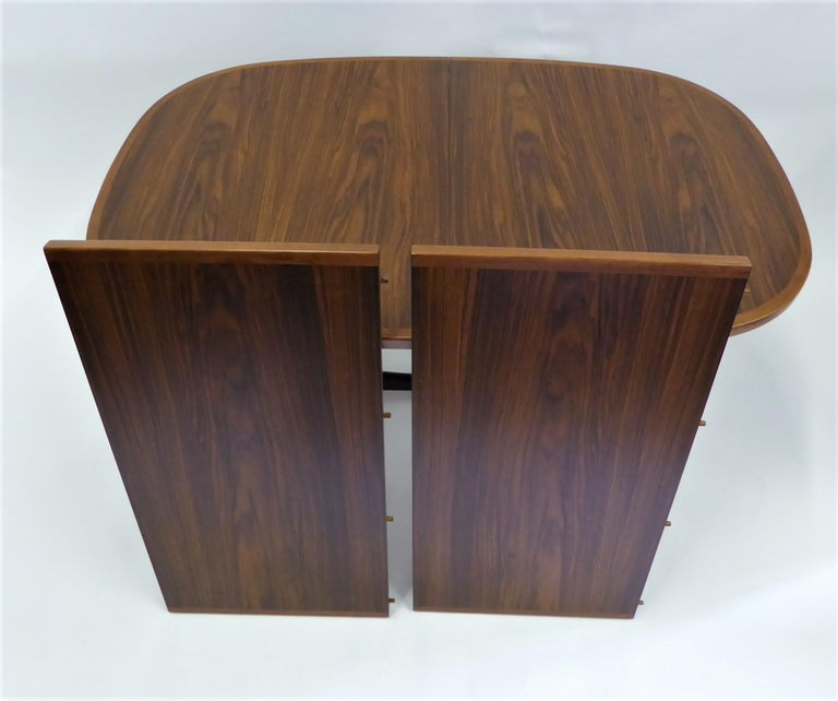 1960s Danish Rosewood Dining Table by Gudme Møbelfabrik For Sale 3