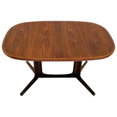 1960s Danish Rosewood Dining Table by Gudme Møbelfabrik