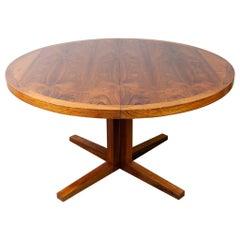 1960s Danish Rosewood Dining Table by John Mortensen for Heltborg Mobler