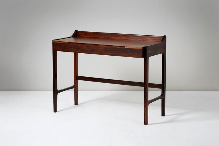 Mid-20th Century 1960s Danish Rosewood Dressing Table For Sale
