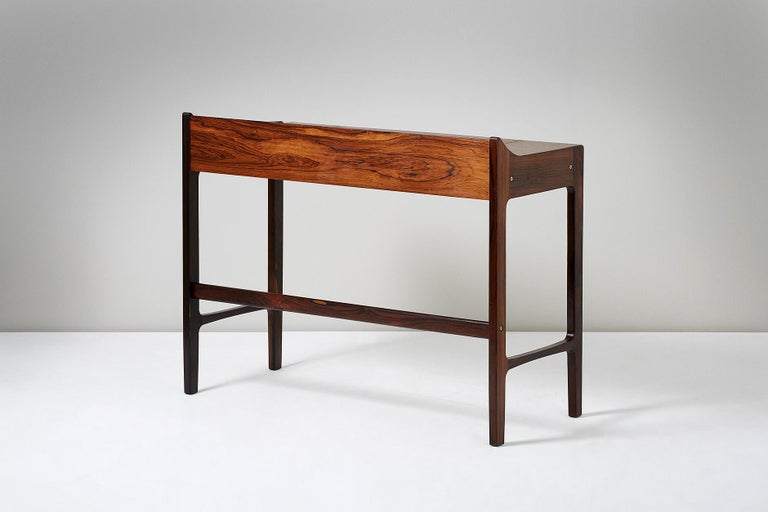 1960s Danish Rosewood Dressing Table For Sale 4
