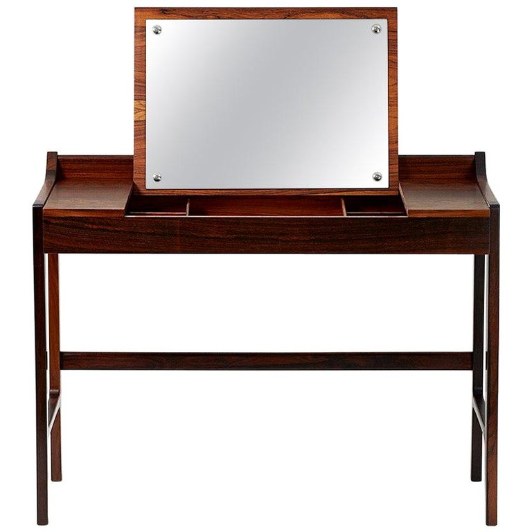 1960s Danish Rosewood Dressing Table For Sale