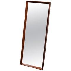 1960s Danish Rosewood Mirror