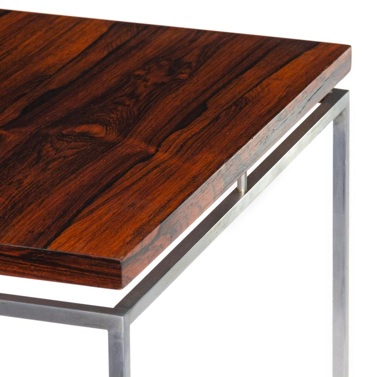 Scandinavian Modern 1960s Danish Side Tables by Knud Joos for Jason Mobler For Sale