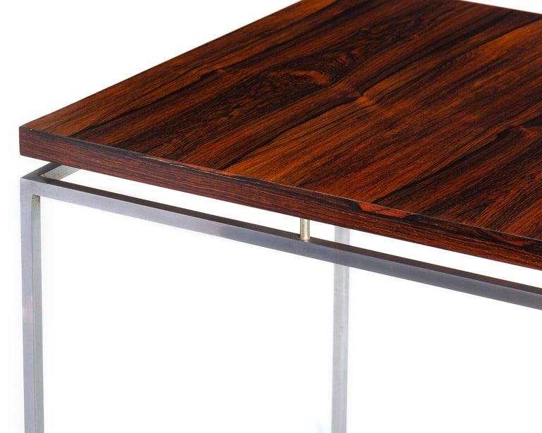 Veneer 1960s Danish Side Tables by Knud Joos for Jason Mobler For Sale