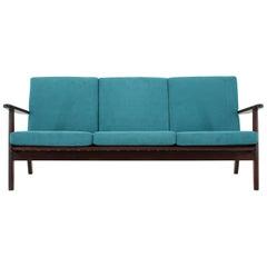 1960s Danish Teak 3-Seat Sofa