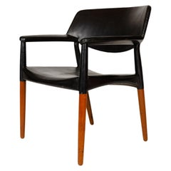 1960s Danish Teak Armchair by Ejner Larsen & Aksel Bender Madsen for Willy Beck