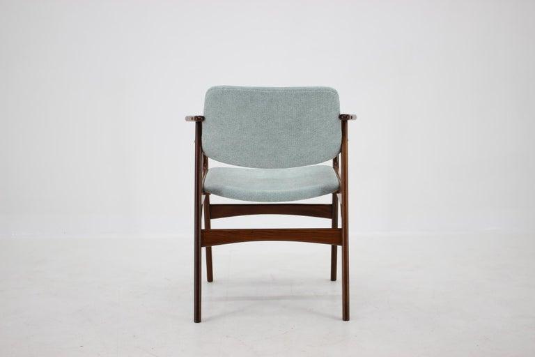 Mid-20th Century 1960s Danish Teak Armchair