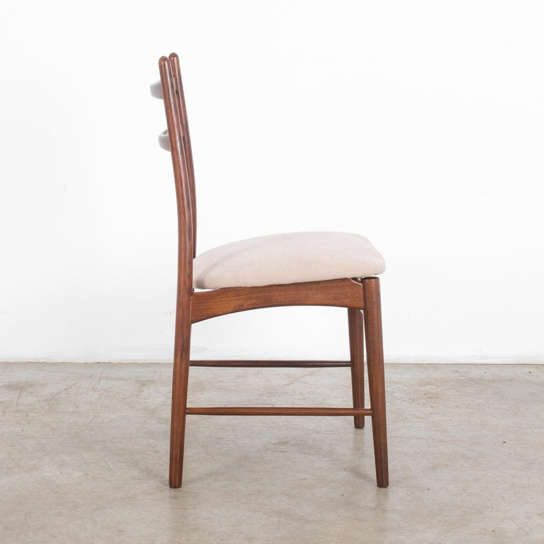 1960s Danish Teak Chair In Good Condition For Sale In High Point, NC